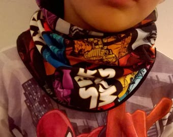 Oeko-Tex Star Wars neck warmer scarf