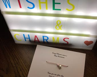 Fairy godmother wish bracelet