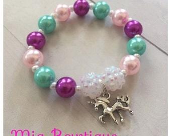 Unicorn party favors, Unicorn bracelets, Unicorn birthday, Unicorn bracelets party favors, Unicorn favors, Pastel colors unicorn favors