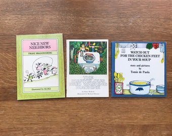 Collection of 3 Used Classic Children's Books