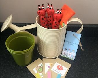 Personalised Childrens Gardening Grow Kit