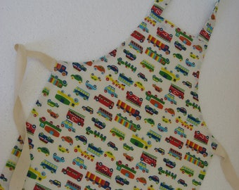 Cars Child's Apron