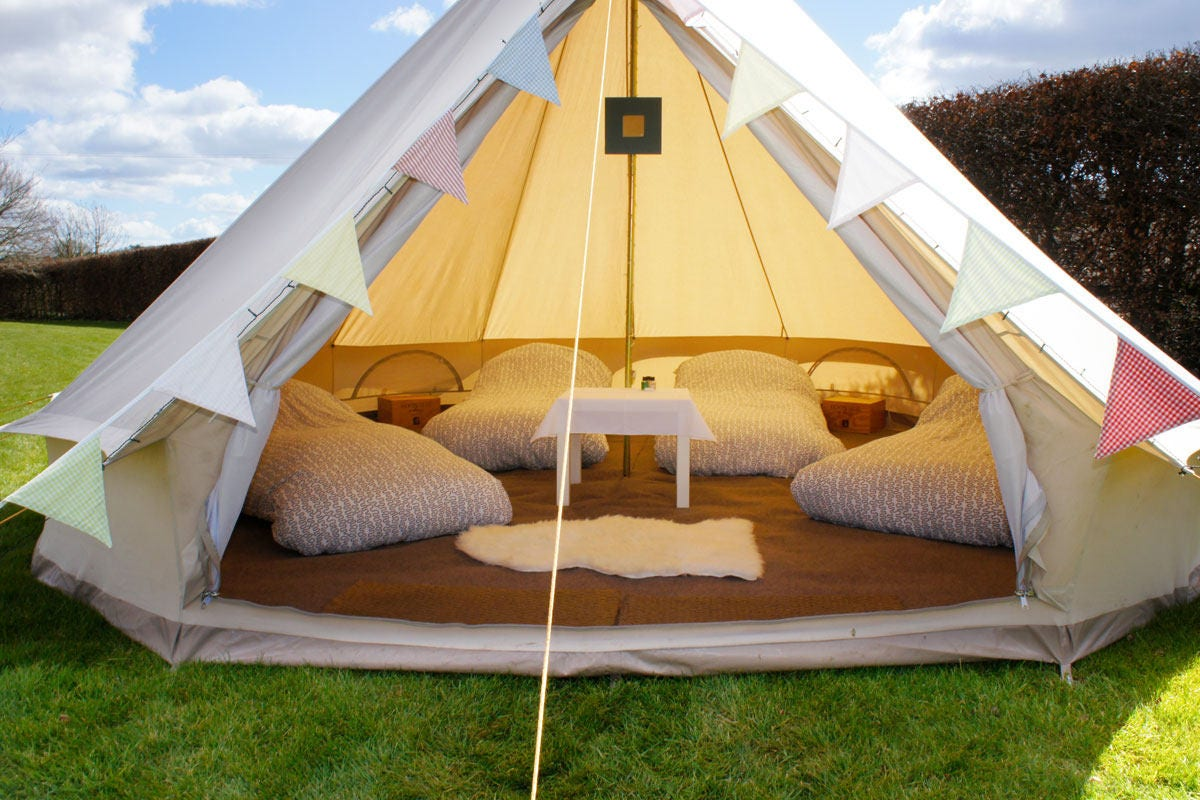 4.5 meter Bell tent Unique to the market not to big not too small...We call it our in-betweener double wall bug net & 4.5 meter Bell tent Unique to the market not to big not too small ...