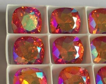 Lot de 4 cristaux Swarovski 4470 12mm à sertir
