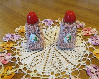 Vintage  1950s salt and pepper shakers from Daytona Beach Florida