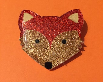 Little Fox brooch