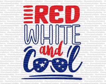 red white and cool, svg, 4th of July, America, kids, boy's, boy, Independence day, USA, day, shirt, arrows, file, vector, decal, design