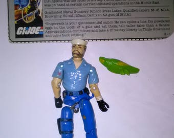 Vintage GI Joe Action Figure Shipwreck  ***1980's-Early 1990's****** Check Out My other Listings