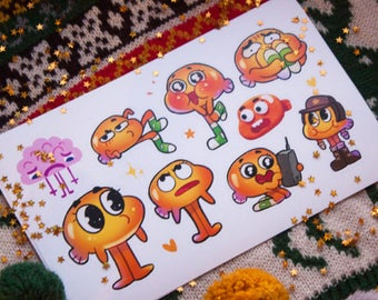 Amazing world of Gumball - DARWIN stickers #29