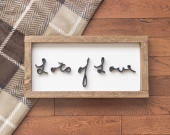Handwriting Wood Sign - Memorial Gift - 3D Handwriting Sign - Custom Wood Sign - Personalized Gift -
