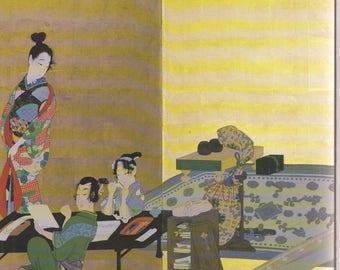 SHIBATA ZESHIN  paintings & SCREENS Japan Edo early Meiji Japanese art ..   christie's auction catalog 1985