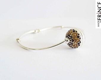 Golden brown Eastern cloud bracelet
