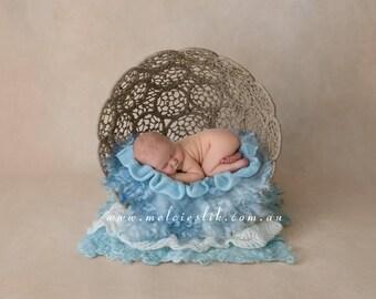 Newborn Photography Digital Backdgrop Background Boys Blue