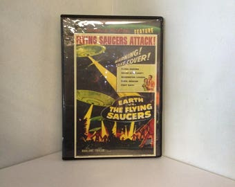Earth Vs. The Flying Saucers (DVD, Sci-Fi 1956