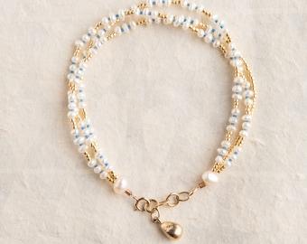 easy pearl bracelet