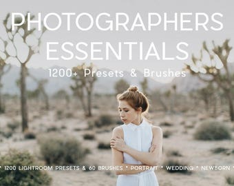 1200+ Professional Lightroom Presets and 40 Lightroom Brushes Professional Photo Editing for Portraits, Newborns, Weddings By LouMarksPhoto
