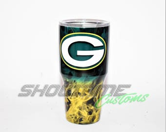 Green Bay Packers Yeti Green Bay Packers Ozark Packers Yeti Packers cup Packers tumbler Packers Ozark Green Bay Gifts Packers Gift