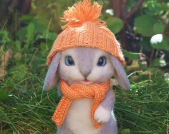 Felt Bunny (felt toy).