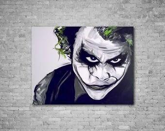 Portrait of the Joker (The dark knight)