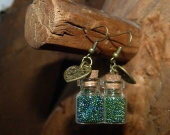 BO vial & Micro bead & heart