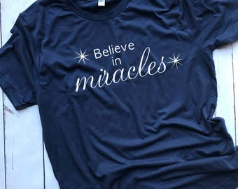 IVF Believe in miracles Shirt - IVF shirt, IVF, ivf transfer, Ivf tee, infertility shirt, ttc, iui, pregnancy shirt, maternity, lucky ivf