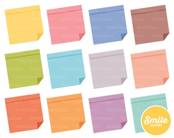 Sticky Note Clipart Illustration for Commercial Use | 0147