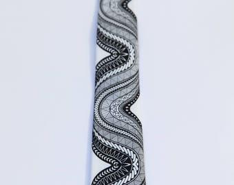 Samoan Silk Necktie