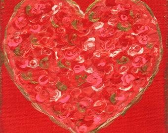 Red Heart ~ Original Art By CLTreat