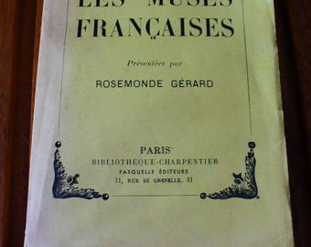 1 book ancient poetry- french muse
