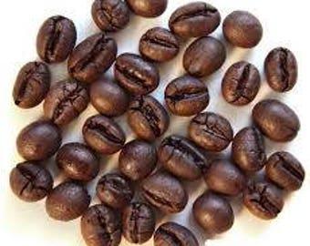 1lb Tanzanian Mbeya Iyela Factory Peaberry Whole Coffee Beans Dark Roast One Pound