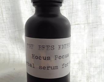 Hocus Pocus • Herbal Skin Serum. Acne prone, Oily skin. Organic Witch Hazel, Yarrow, Rosemary, Pure Tea Tree oil. Purifying & Nourishing