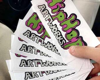 HipHop Artworks Stickers