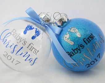 Babys first christmas ornament  Etsy CA