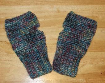 Mountain Fingerless Gloves