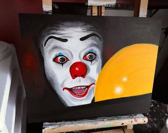 Pennywise Balloon Painting