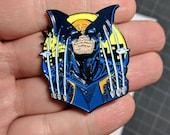 Dark Claw Batman Pin Logan Enamel Pin Infinity War Justice League Christmas Gift Stocking Stuffers Death Enamel Pin Wolverine Punk Pin
