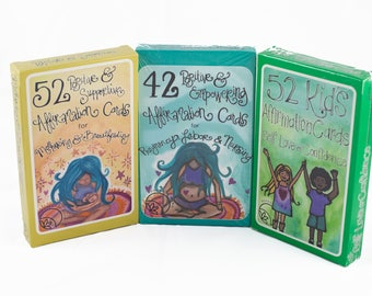 WHOLESALE- 30 Decks of Affirmation Support Cards -10 Pregnancy, 10 Mothering & 10 Kid's Decks  by The Renegade Mama