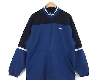 Vintage Nike Jacket / Nike Zipper / Challenge Court / Nike Swoosh / Nike Hoodie / Nike Jacket / Nike Hoodie / Big Swoosh / Nike Big Logo