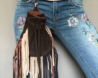 Small handy bag handmade Etnische Boho Inheemse Indiaanse Hippie Gypsy Boheemse Bohemian