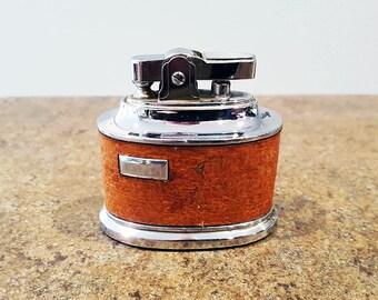 Vintage M.T.C. Table Lighter, Circa 1960, Working