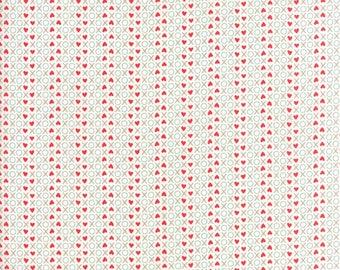 XOX in Multi - Love You - Moda cotton fabric