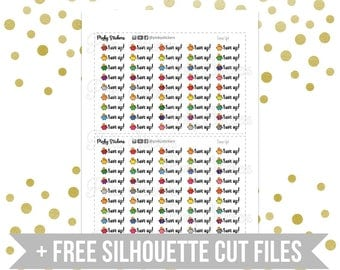 SALE! -50%   Save Up Stickers   Printable   Includes Free Silhouette Cutfiles
