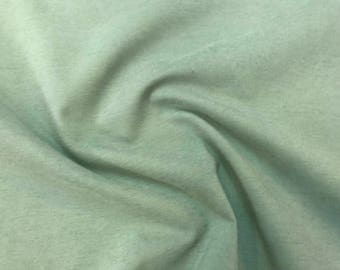Seafoam On Mid-Weight Durable Cotton Blend With Bonded Interface Backing