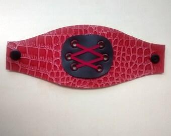 Bohemian, punk goth bracelet, leather bracelet, bracelet leather Hippie, hippie Bangle, Hippie bracelet, wristband