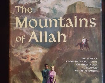 1952 The Mountains of Allah by Paul Chavchavadze