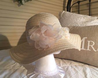 Sun Hat Beach Vacation Honeymoon Hat