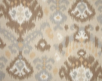 Blurred Lines Dusk, Magnolia Home Fashions - Cotton Upholstery Fabric By The Yard