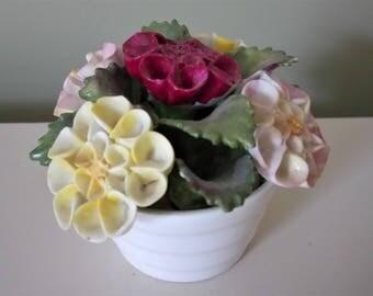 Aynsley Bone China Bouquet September Dahlia Made In England