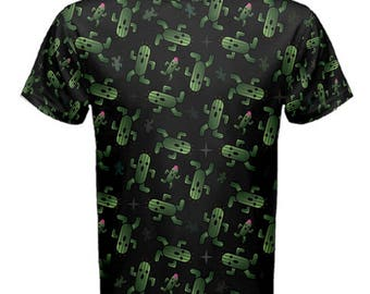Cactuar Tshirt - Final Fantasy VI Mens T-Shirt Cosplay Tshirt Comicon Tshirt Videogame T-Shirt Cactuar Top Cactaur T-Shirt Oddity Apparel