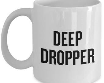 Parkour GIft Idea - Parkour Coffee Mug - Deep Dropper - Freerunning Gift
